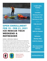 Ice Rescue Technician - Initial - Watchung