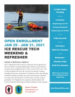 Ice Rescue Technician - Initial - Hopatcong, NJ - SOLD OUT